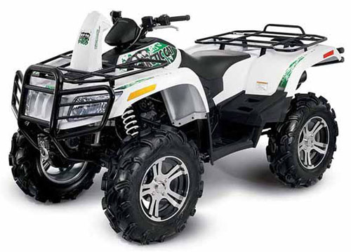 Arctic Cat 400-1000 4x4 Atv 2010 Service Repair Manual