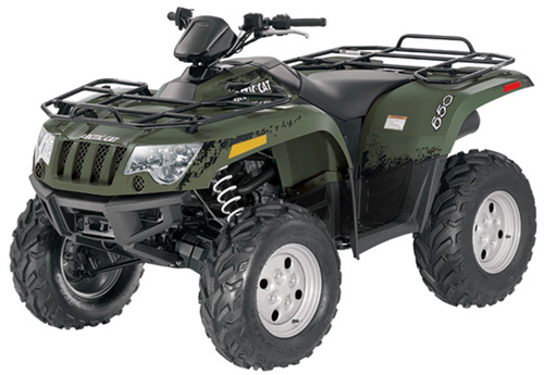 Arctic Cat 650 Twin Atv 2004 Service Repair Manual