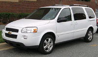 Chevrolet Uplander 2005-2009 Service Repair Manual