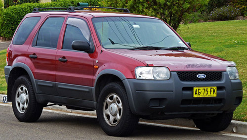 Ford Escape 2001-2007 Service Repair Manual
