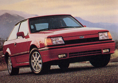 Ford Escort 1981-1990 Service Repair Manual