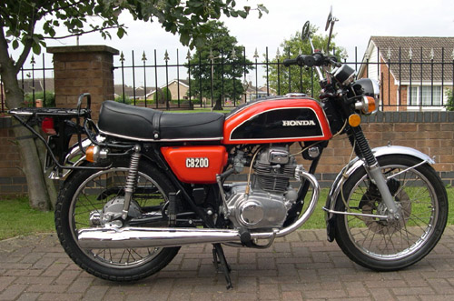 Honda Cb200 Cl200 1973-1979 Service Repair Manual