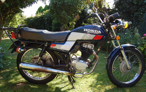 Honda Cg-125 1976-1991 Service Repair Manual