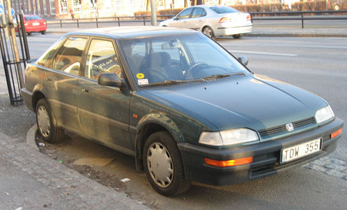 Honda Concerto 1990-1994 Service Repair Manual