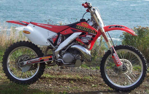 Honda Cr250r 2000-2001 Service Repair Manual
