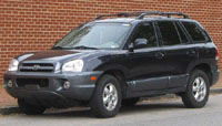 Hyundai Santa Fe 2000-2006 Service Repair Manual
