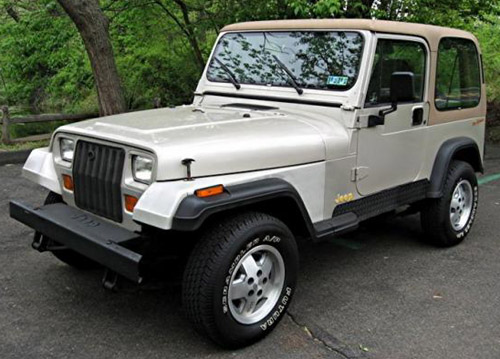 Jeep Wrangler Yj 1987-1995 Service Repair Manual