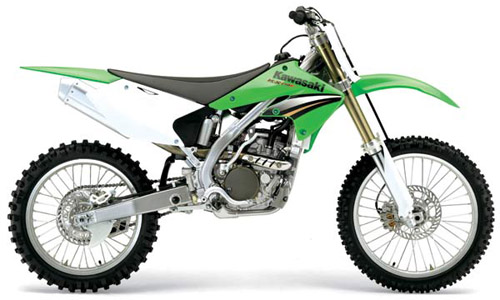 Kawasaki Kx-250f 2003-2005 Service Repair Manual