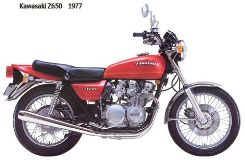Kawasaki Kz650 Z650 1977-1983 Service Repair Manual