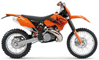 Ktm 250-300 Sx Sxs Mxc Exc Exc-Six-Days Xc Xc-W 2004-2006 Service Repair Manual