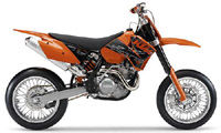Ktm 250 400 450 520 525 Sx Exc 2000-2006 Service Repair Manual