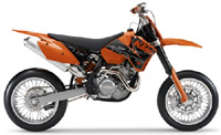 Ktm 400 450 Sx Mxc Xc Exc Smr Sxs-Racing 2000-2006 Service Repair Manual