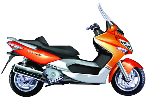Kymco Xciting 500 Service Repair Manual