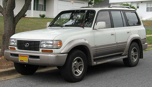 Lexus Lx-450 1996-1998 Service Repair Manual