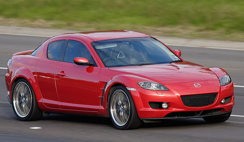Mazda Rx8 2003-2008 Service Repair Manual