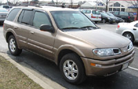Oldsmobile Bravada 2002-2004 Service Repair Manual