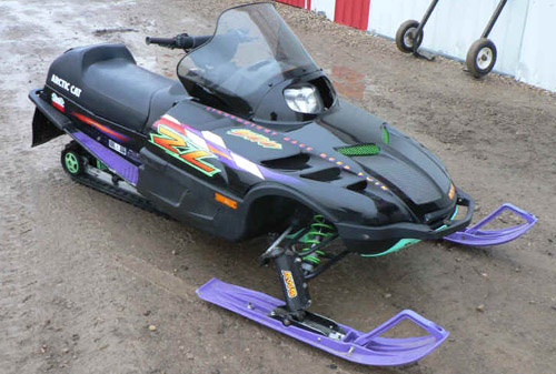 Polaris Snowmobile 1996