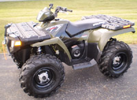 Polaris Sportsman 400-500 Atv 1996-2010 Service Repair Manual
