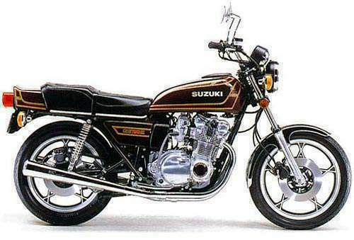 Suzuki Gs750 1976-1981 Service Repair Manual