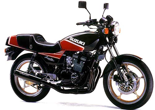 Suzuki Gsx-400f 1981-1983 Service Repair Manual