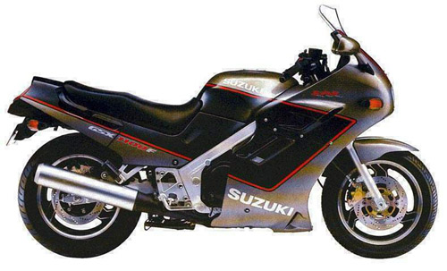 Suzuki Gsx-600f-750f-1100f 1988-1996 Service Repair Manual