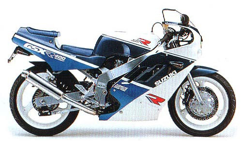 Suzuki Gsx-R400 Japanese 1988-1989 Service Repair Manual