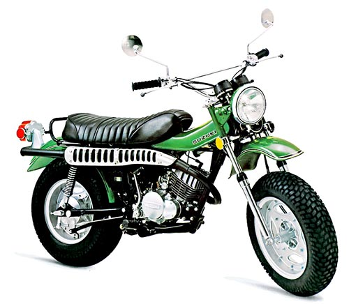 Suzuki Rv125 1972-1981 Service Repair Manual