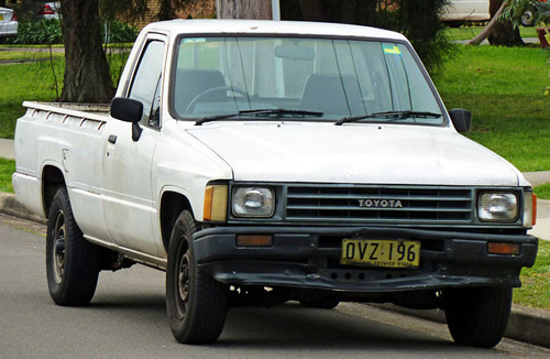 Toyota Pickup 1979-1995 Service Repair Manual