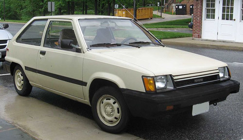 Toyota Tercel 1982-1986 Service Repair Manual
