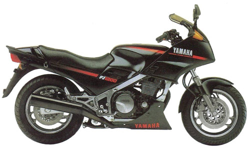Yamaha Fj1100 Fj1200 1984-1993 Service Repair Manual