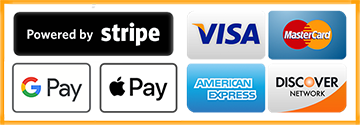 Checkout with Stripe or credit card